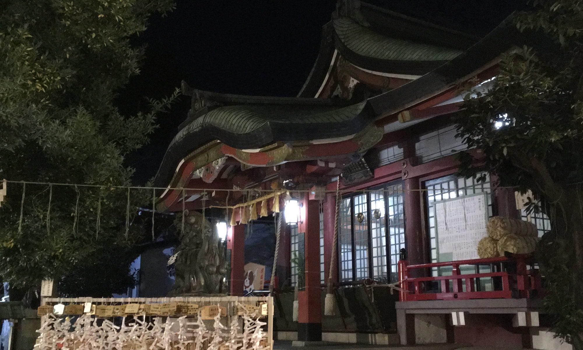 王子神社に初詣