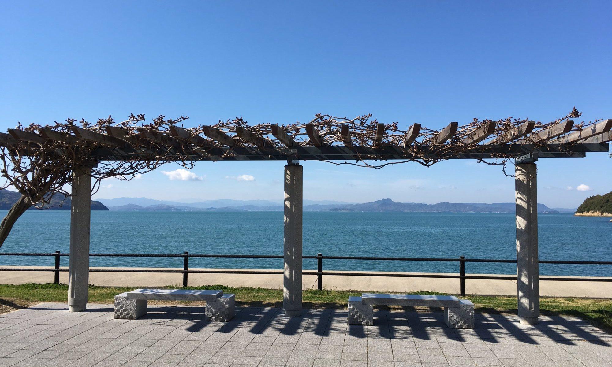 池田港の風景