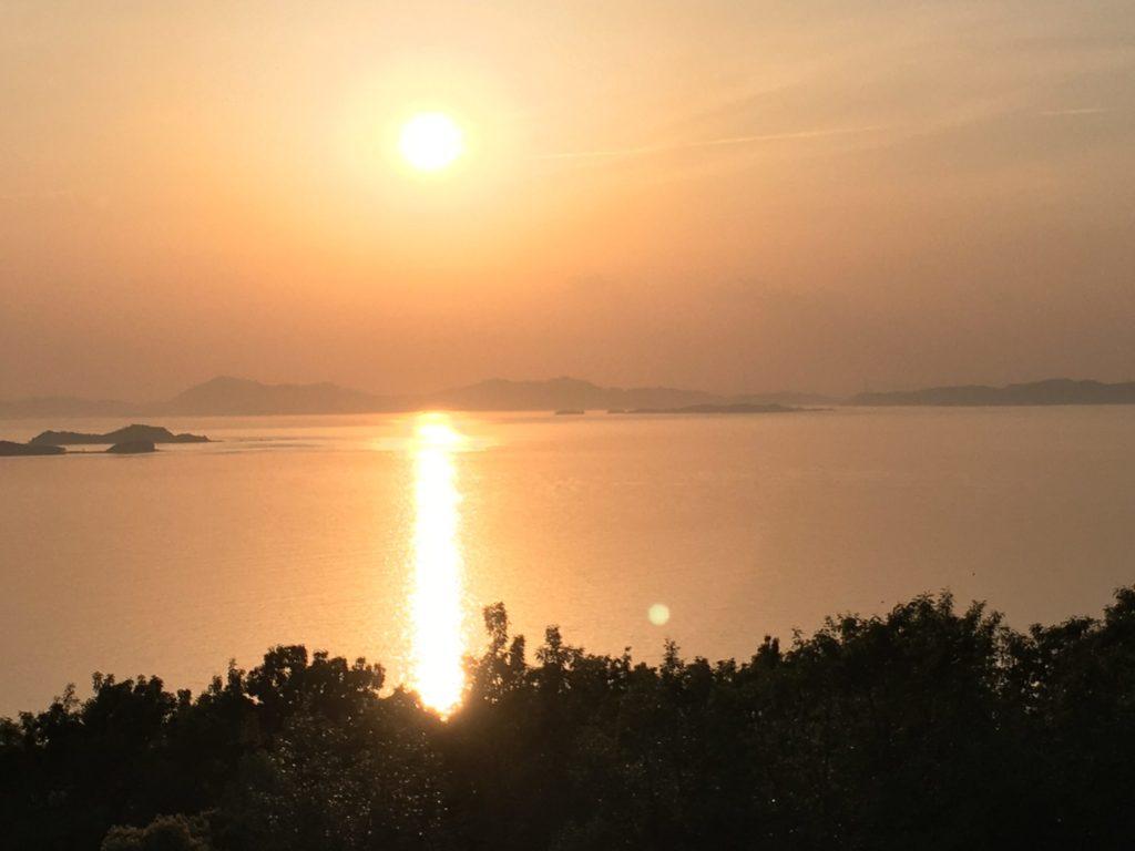 夕陽ケ丘の絶景