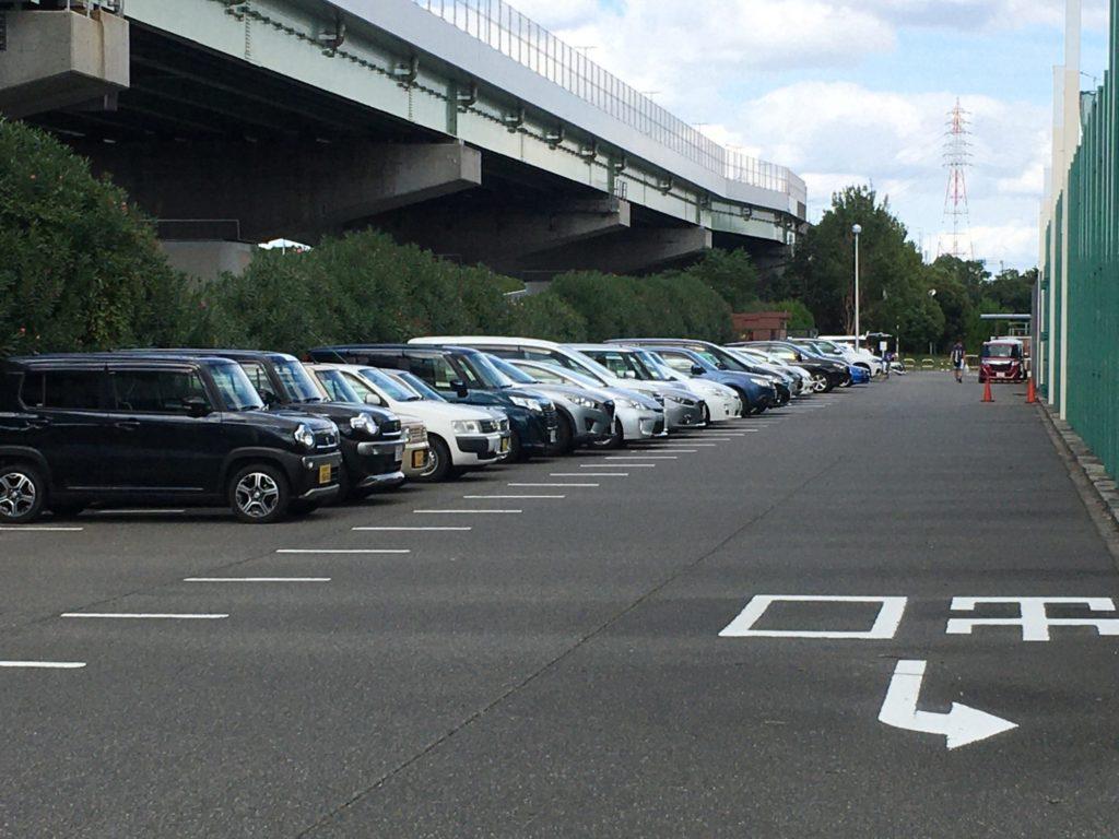 臨海緑地駐車場